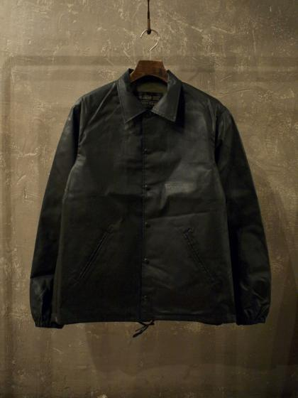 WAXED COTTON COACH JACKET