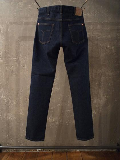 TAPERED 5P DENIM PANTS