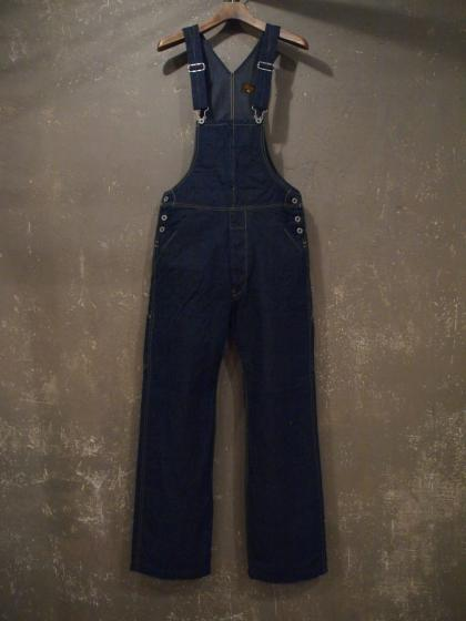 HI-BACK OVERALL-12oz DENIM-