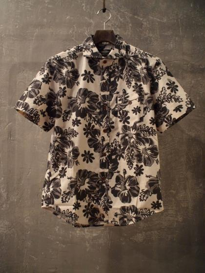 HORIZONTAL COLLAR ALOHA SHIRT