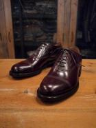 STRAIGHT BALMORAL SHOES