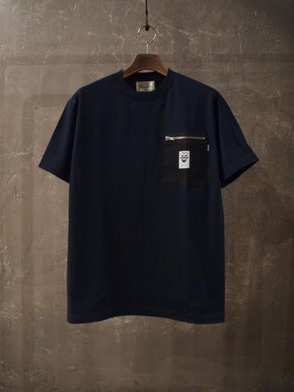 ZIP POCKET TEE