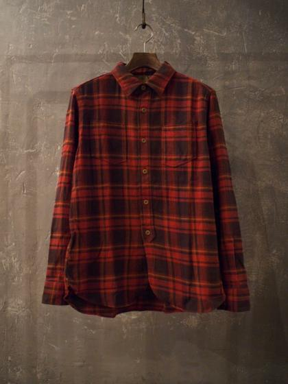 Ombre Check Work Shirts