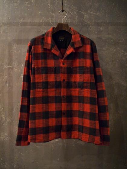 Square Pocket Check Shirts