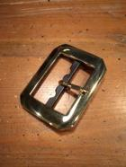 SOLID BUCKLE -SINGLE/BRASS-