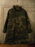 STAND COLLAR MILITARY COAT-CAMO-