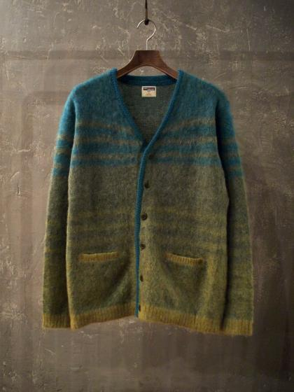 Gradation Mohair Cardigan