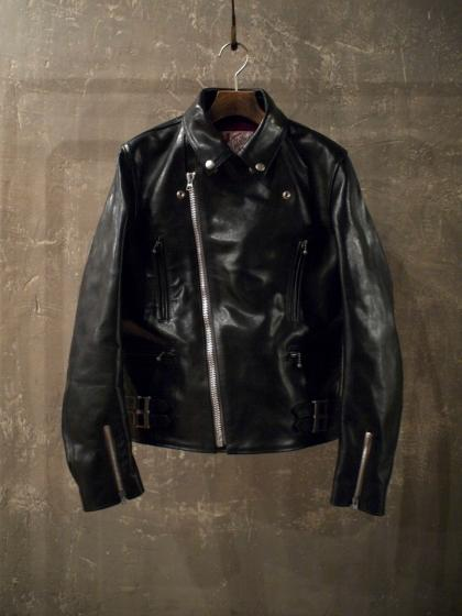HORSEHIDE DOUBLE RIDERS JACKET